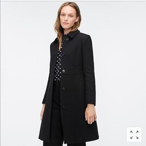 J. Crew Petite Thinsulate classic lady day coat